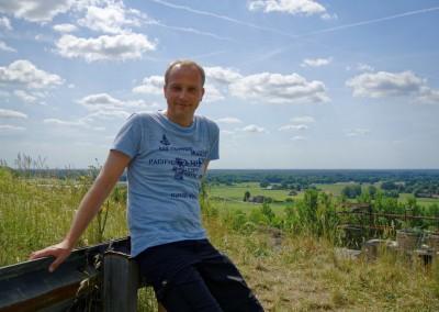 Ich am Münsterlandblick