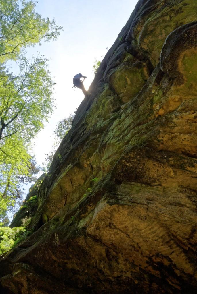 Klettern am Drei-Kaiser-Stuhl