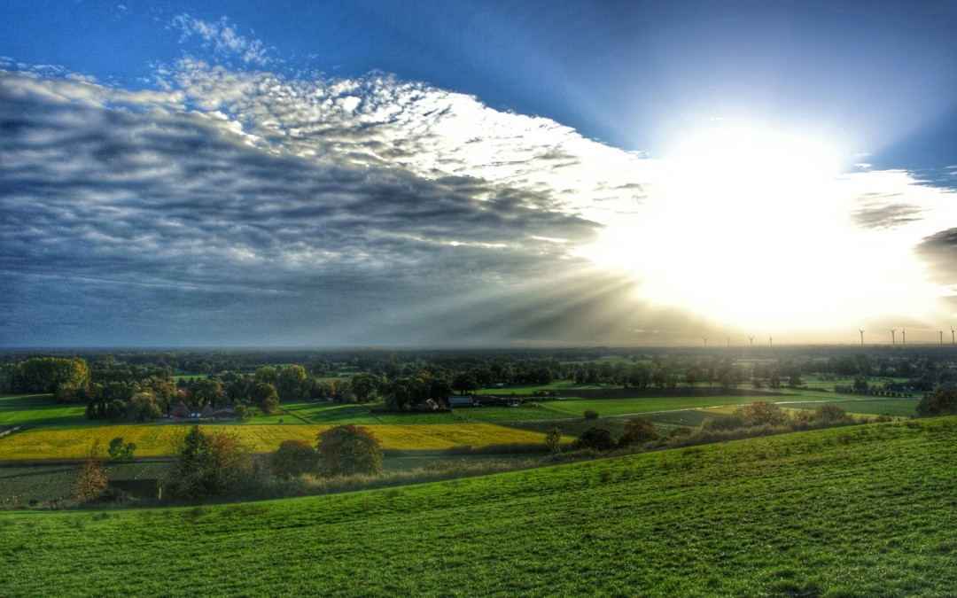 Sonnuntergang Dast in HDR