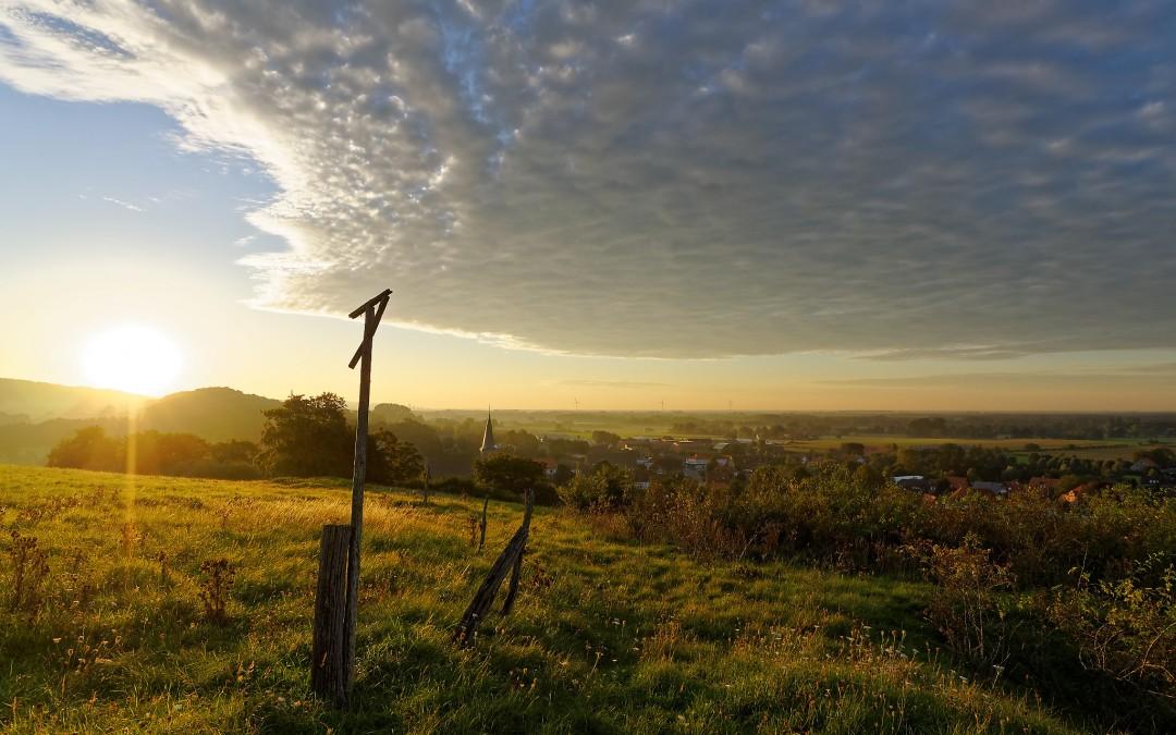 Sonnenaufgang über Brochterbeck