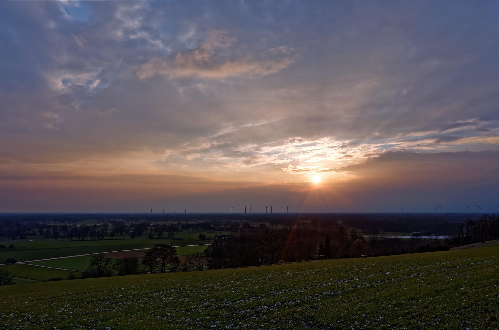 Sonnenuntergang Brochterbeck 2