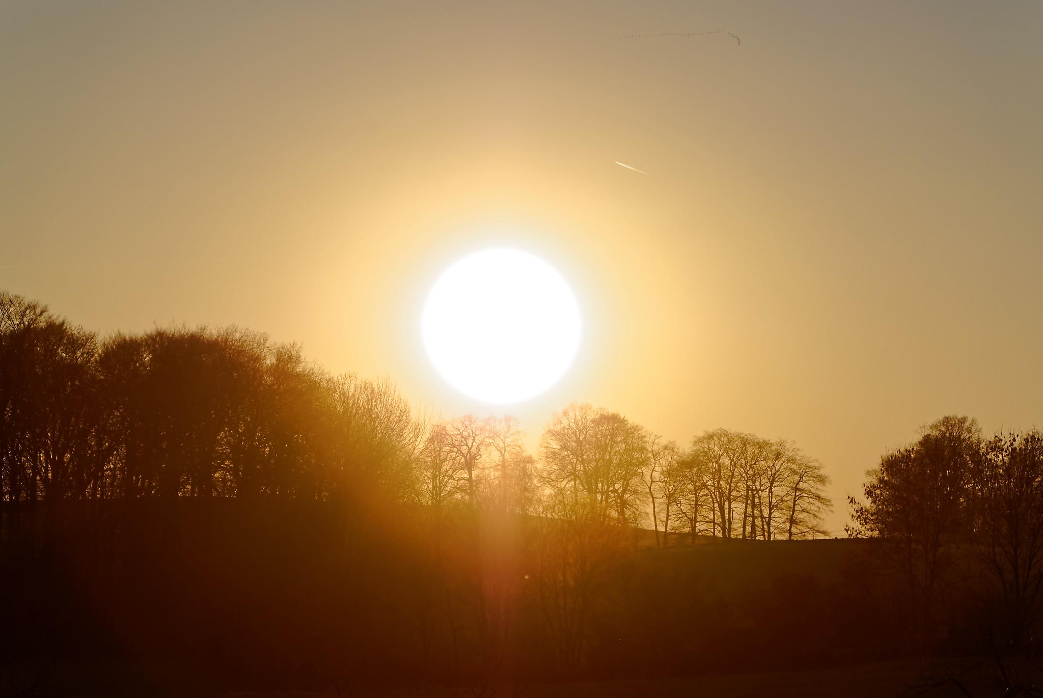 Sonne Brochterbeck